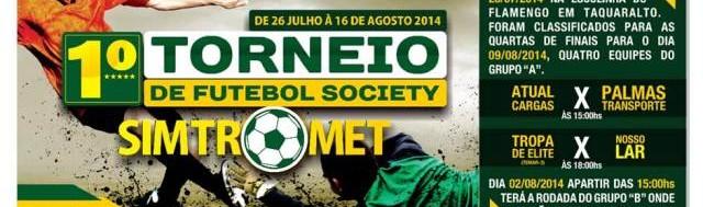 JORNAL DAQUI - 1º. TORNEIO DE FUTEBOL SOCIETY - SIMTROMET