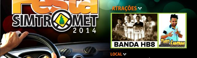 Festa SIMTROMET  2014 - Banner Site