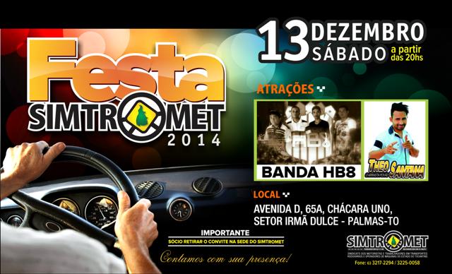 ''Festa de Confraternização/2014 - SIMTROMET''