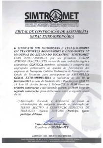 EDITAL DE CONVOCAÇÃO AGE 08.02.2015 TRANSP. RODOV. PASSAGEIROS EST TO03022015_0000