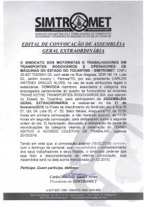 EDITAL DE CONVOCAÇÃO AGE 21.02.2015 TRANS KOTHE11022015_0000