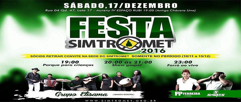 Confraternização 2016 - SIMTROMET