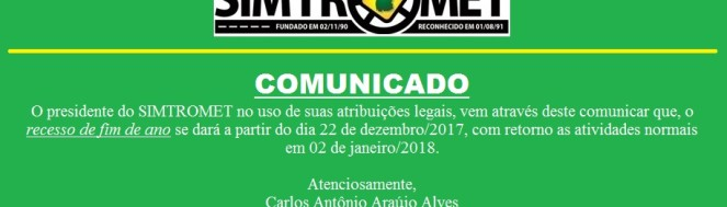 RECESSO - FIM DE ANO 2017 - (2)